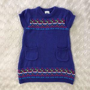 Carter's Sweater Dress Size 6 Months Purple